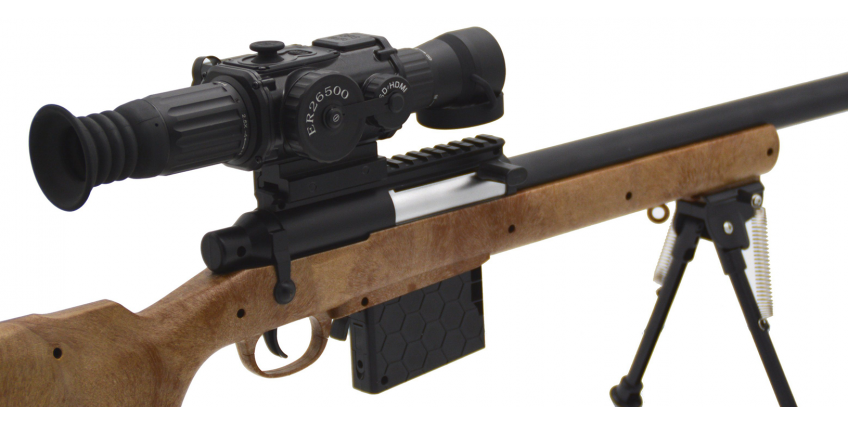 Can you use a night vision monocular with a rifle scope?